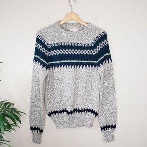 Vintage Midwest Traders   Ski Lodge Sweater